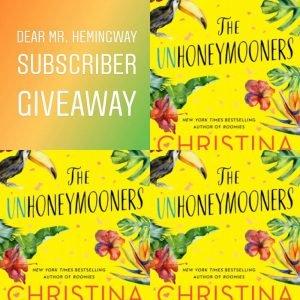 UnHoneymooners Subscriber Giveaway Graphic