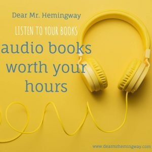 Audiobooks worth your hours custom graphic
