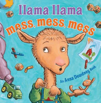 Llama llama mess mess mess book cover