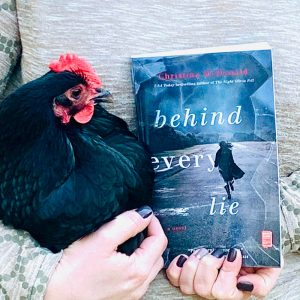 Behind Every Lie Beauty shot with chicken