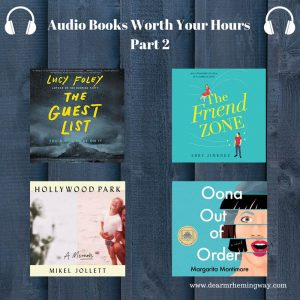 Audiobooks Worth Your Hours collage