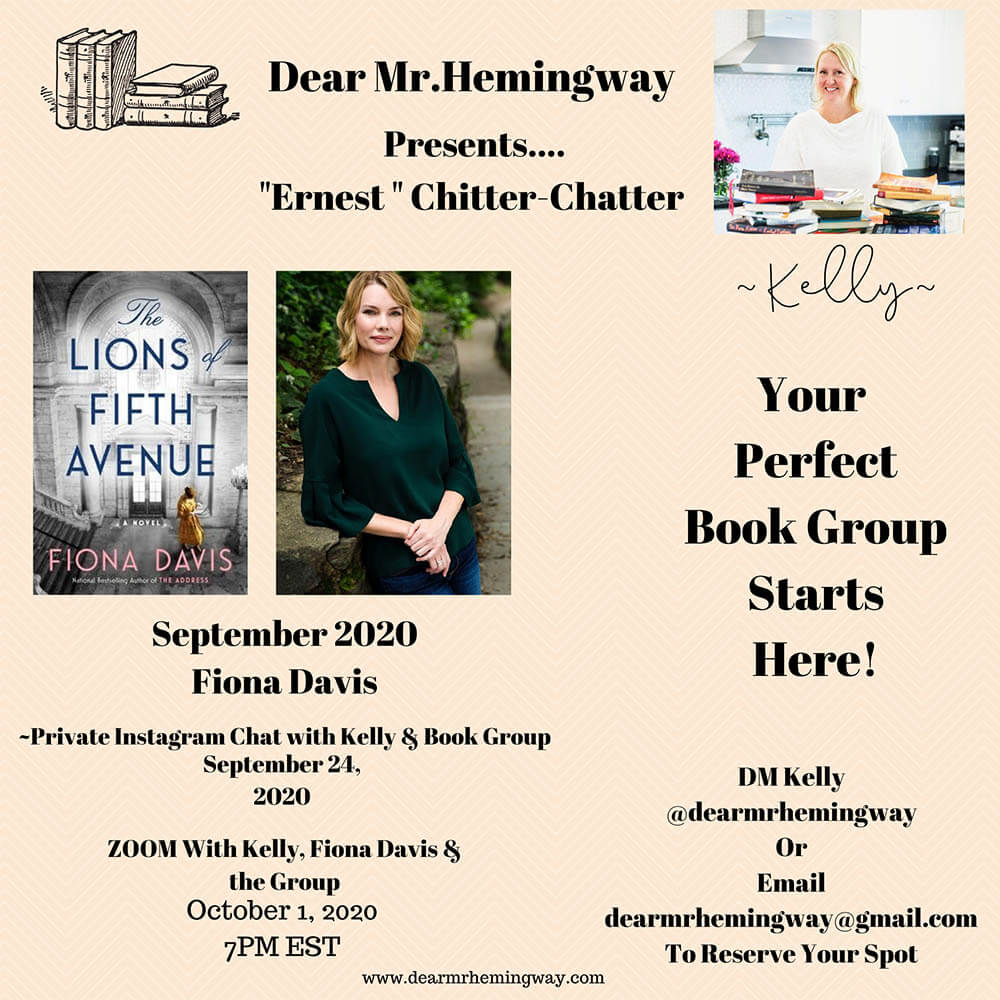 Ernest Chitter Chatter Book Group Collage