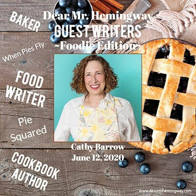 Guest Writer, Cathy Barrow