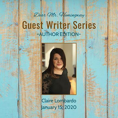 Guest Writer, Author Claire Lombardo