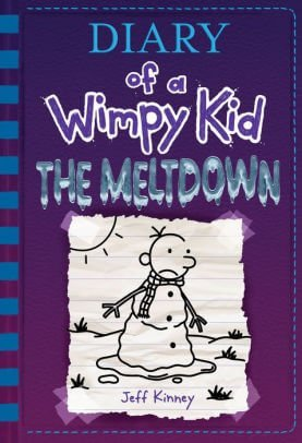 Diary of a Wimpy Kid: Meltdown book cover