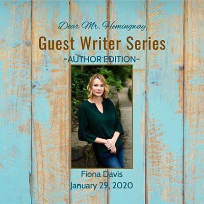Guest Writer, Author Fiona Davis