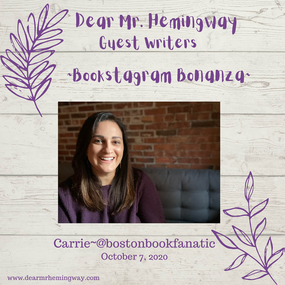 Guest Writer, Carrie Torisi graphic