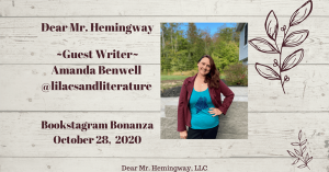 Guest writer Amanda Benwell graphic