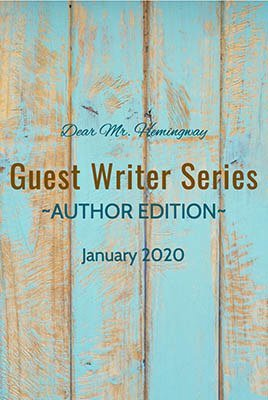 Guest Writer Series 2020, Author Edition Graphic
