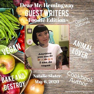 Guest Writer, Natalie Slater