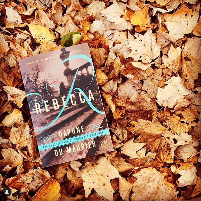 Beauty shot of book, Rebecca