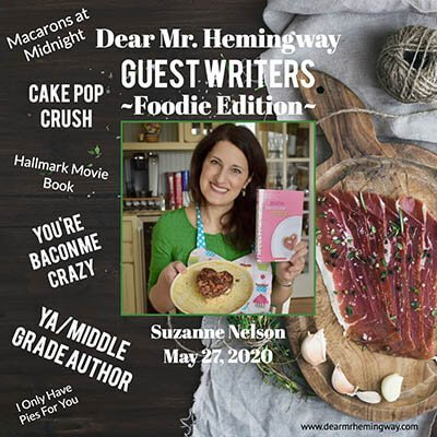 Guest Writer, Suzanne Nelson