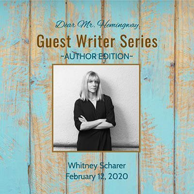 Guest Writer, Author Whitney Scharer