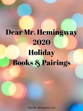 2020 Holiday book pairing graphic