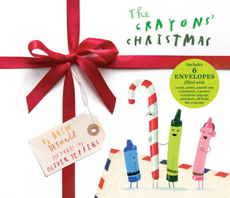 The Crayons Christmas book cover