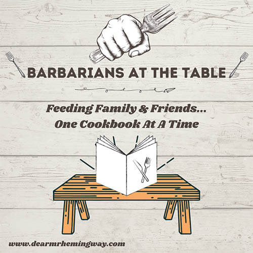 Graphic for Barbarians at the Table column